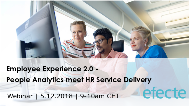 Employee Experience 2.0: People Analytics meet HR Service Delivery