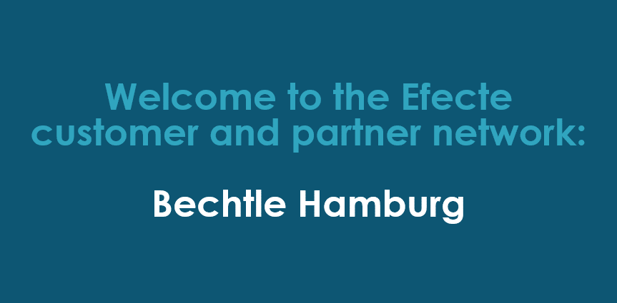 Efecte Germany: Customer and partner agreement with Bechtle Hamburg