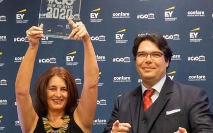 Efecte Board member Brigitte Falk awarded CIO of the decade