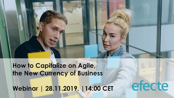 Webinar: How to Capitalize on Agile, the New Currency of Business