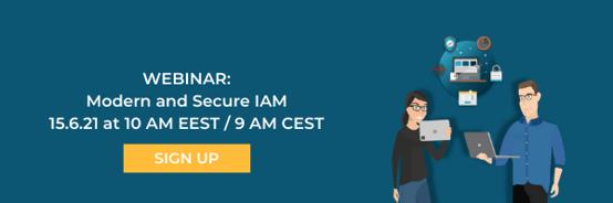 Modern and Secure IAM webinar