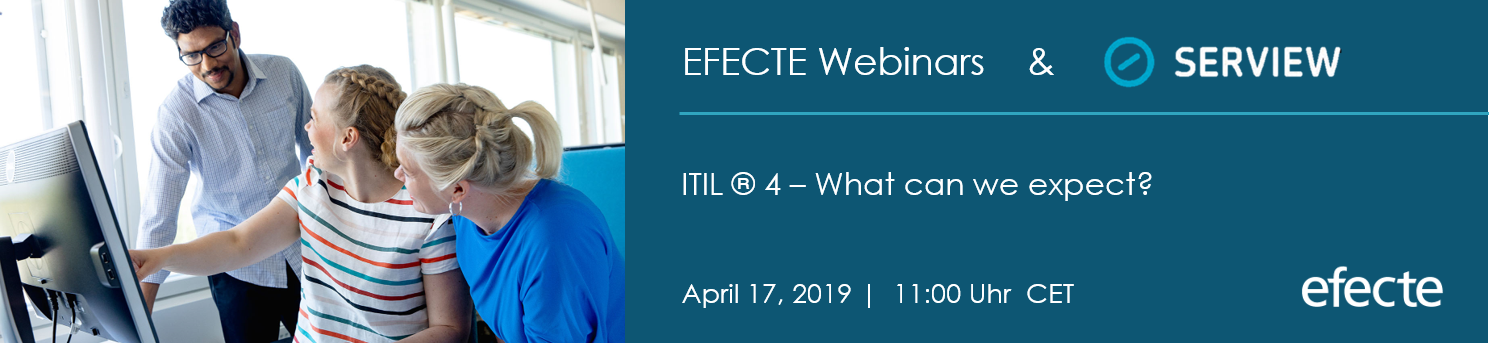webinar efecte: ITIL 4-what can we expect