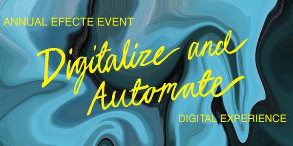 Virtueller Jahreskongress von Efecte: Stärkung Europas durch Digitalisierung
