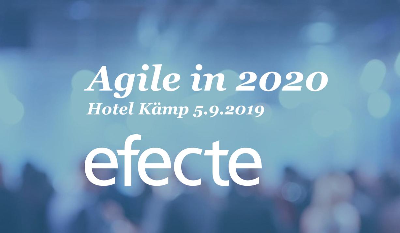 Agile in 2020 -tapahtuma